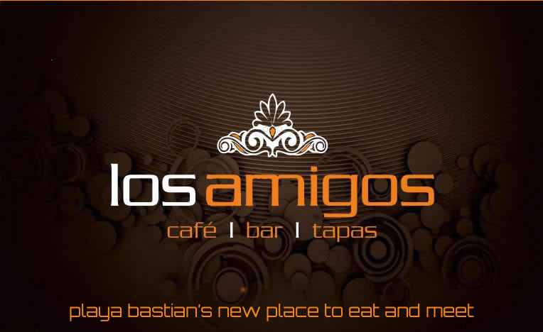 Los Amigos - Playa Bastian's new place to eat and meet